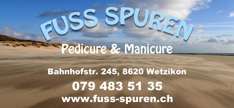 Fuss-Spuren